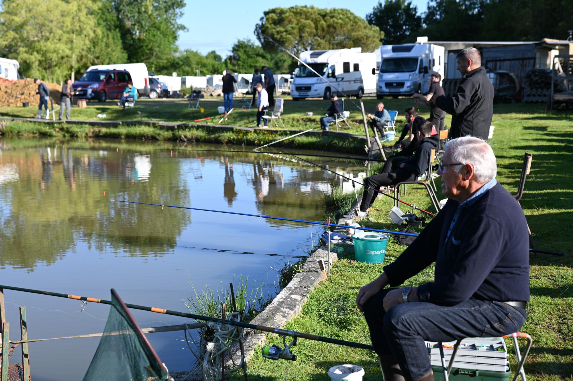 Pêche La Boissière des landes